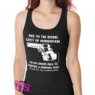Provide a warning shot Women's Tank Tops