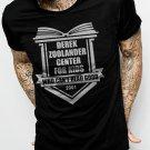 Derek Zoolander Center For Kids Who Can't Read Good Mens Men Black T-Shirt Tee