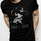 LEMMY 1945 2015 Men Balck T-Shirt MOTORHEAD Insired Tee