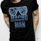 MACHO MAN SAVAGE RANDY FUNNY Men Black T-Shirt Tee