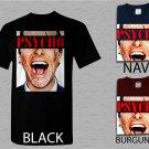Men T Shirt American Psycho Christian Bale Adult T-Shirt S - XXL