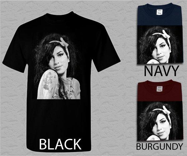 Men T Shirt Amy Winehouse Jazz Music Camden Town Adult T-Shirt S - XXL