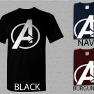 Men T Shirt Avengers Logo Marvel Adult T-Shirt S - XXL