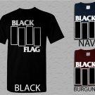 Men T Shirt Black Flag Adult T-Shirt S - XXL