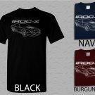 Men T Shirt Chevy Camaro Custom Illustration IROC Adult T-Shirt S - XXL