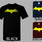 Men T Shirt DC Comics Batman Fly Hush Bat Logo Men's Adult T-Shirt S - XXL