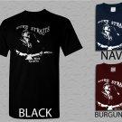 Men T Shirt Dire Straits T-Mark Knopfler Blues Rock Shirt Adult T-Shirt S - XXL