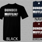 Men T Shirt Dunder Mifflin PAPER The Office Funny SCHRUTE Adult T-Shirt S - XXL