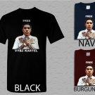 Men T Shirt Free Vybz Kartel Gaza Rap Hip Hop Singer Reggae Adult T-Shirt