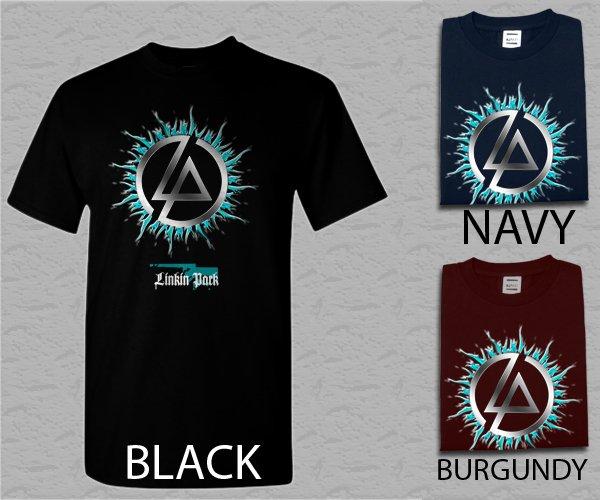 Men T Shirt LINKIN PARK Thousand Suns Alternative Rock Band Adult T-Shirt