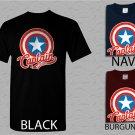 Men T Shirt Marvel Captain America Adult T-Shirt S - XXL