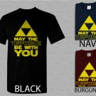 Men T Shirt May The Triforce Be With You Starwars Parody Gamer Adult T-Shirt