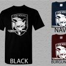 Men T Shirt Metal Gear Solid Fox Hound Logo Adult T-Shirt S - XXL