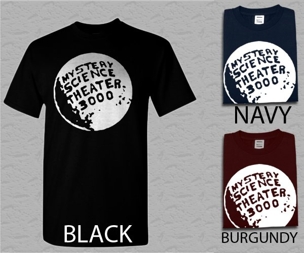 Men T Shirt Mystery Science Theater MST3K Adult T-Shirt S - XXL