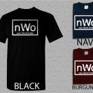 Men T Shirt New World Order nWo Logo WCW Professional Wrestling Adult T-Shirt