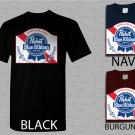 Men T Shirt Pabst Blue Ribbon Beer Logo Adult T-Shirt S - XXL