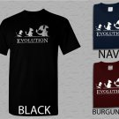 Men T Shirt Pokemon Evolution Adult T-Shirt S - XXL