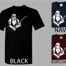Men T Shirt STAR WARS Guitar StormTrooperT Sizes Sm-XXL Gibson Rocker