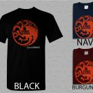 Men T Shirt Targaryen Fire & Blood Dragon Adult T-Shirt S - XXL