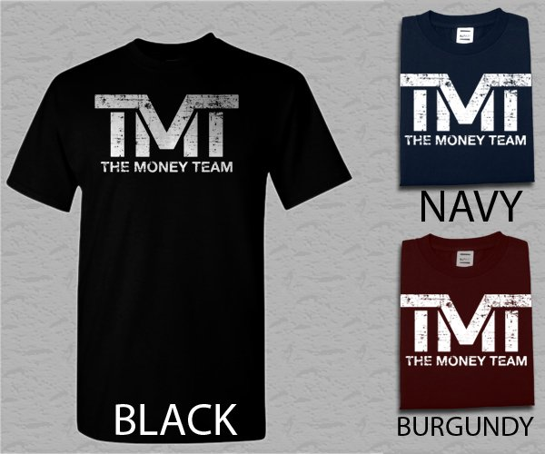 Men T Shirt THE MONEY TEAM FUNNY HUMOR STAND OUT Adult T-Shirt S - XXL