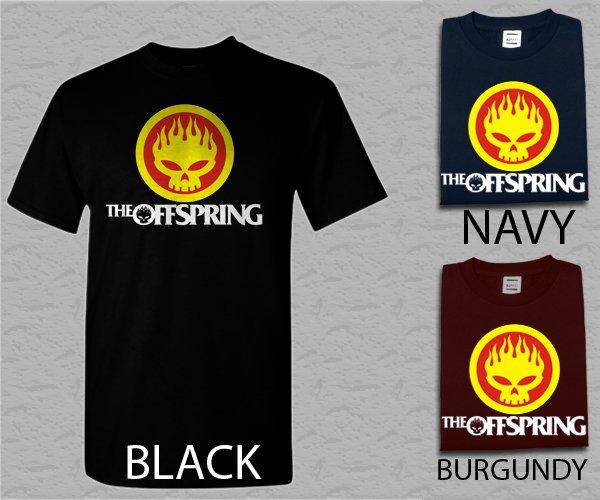 Men T Shirt The Offspring Adult T-Shirt S - XXL