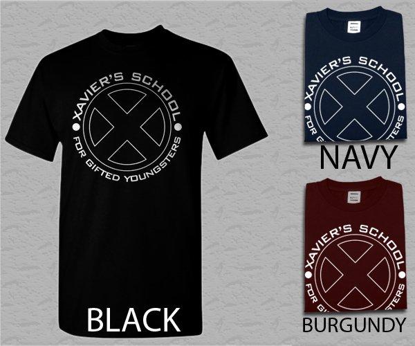 Men T Shirt X-men Retro Marvel Xavier Adult T-Shirt S - XXL