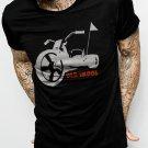 Old Skool Big Wheel Men Black T-Shirt Retro Old School Tee Size S,M,L,Xl,XXL