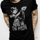 Oliver Sykes British Bring Me The Horizon Men Black T-Shirt Tee