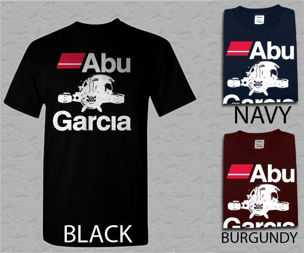 Men T-Shirt Abu Garcia Fishing Reel Adult Tshirt S - XXL