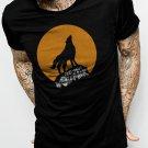One Man Wolf Pack Men Black T-Shirt Size S,M,L,Xl,XXL