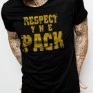 Respect the Pack Green Bay Packers Go Pack Men Black T-Shirt Tee