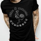 Sriracha Rooster Label Funny Bottle Red Hot Chili Sauce Men Black T-Shirt Tee