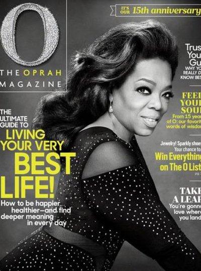 O, The Oprah Magazine 1 Year Subscription