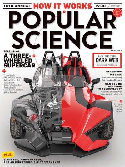 Popular Science Magazine Subscription 6 Months
