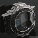 CUSTOM BLACK AND WHITE CZ ICED OUT G SHOCK