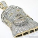 3D 14K IP STEEL TOP QUALITY FULL ICED JESUS