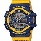 G-Shock GA-400-9B Rotary Switch Mission Stylish Watch - Blue/Yellow / One Size