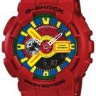 Casio G-Shock Men's Red Analog Digital Wat