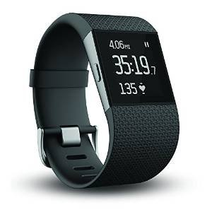 """Fitbit Surge Fitness and Training GPS Superwatch Black Size """"Small """""""
