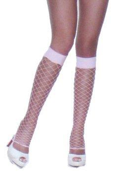 Nylon Fence-net Leg Warmers