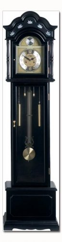 Edward MeyerTM Grandfather Clock with black finish