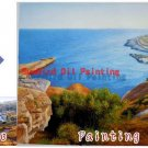 Custom original oil portrait painting from your photos-Hand painted oil painting on canvas