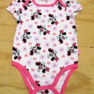 Disney Baby Girls 3-6 Mos Minnie Mouse Bodysuit Girl's One-Piece
