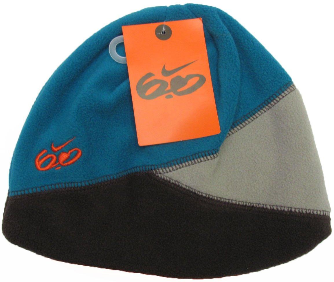 Nike 6.0 Boys size 4-7 Blue Fleece Beanie Boy's Kids Winter Hat