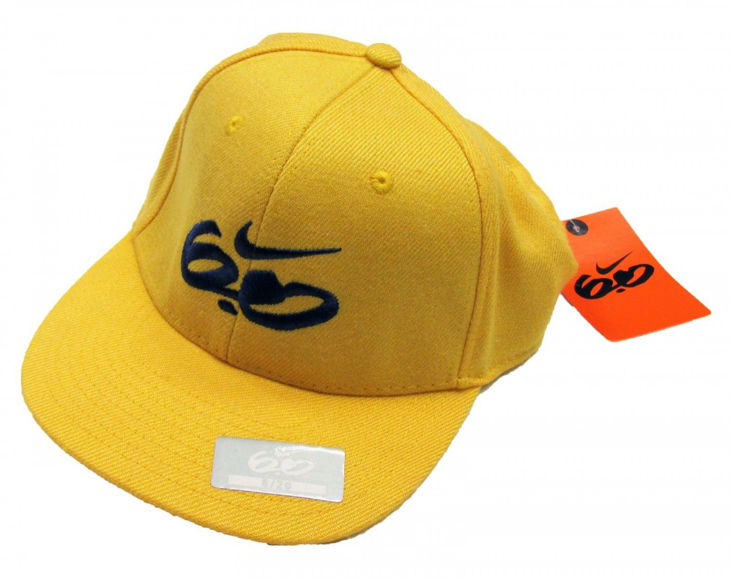 Nike 6.0 Boys Hat size 8-20 Yellow Cap with Logo Boy's New