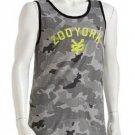 Zoo York Mens S Gray Camo Tank Top Men's Small Sleeveless Shirt