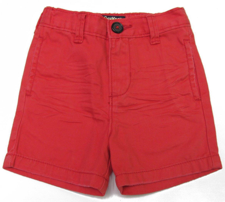 OshKosh B'Gosh Baby Boys 6 Mos Red Twill Shorts New 6 Months
