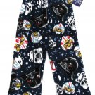 Angry Birds Star Wars Boys Size 4 Thick Fleece Pajama Pants Blue Lounge New