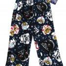 Angry Birds Star Wars Boys Size 4 Thick Fleece Pajama Pants Blue Lounge New