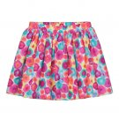 Sonoma Life and Style Girls size 5 Pink Floral Printed Scooter Skirt with Shorts Inside